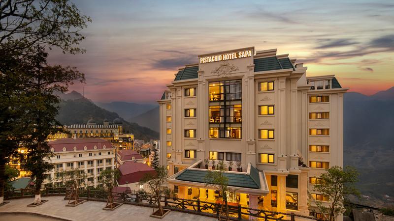 Nghỉ dưỡng cao cấp tại ốc đảo yên bình Pistachio Hotel Sapa chỉ có 600K - ảnh 1