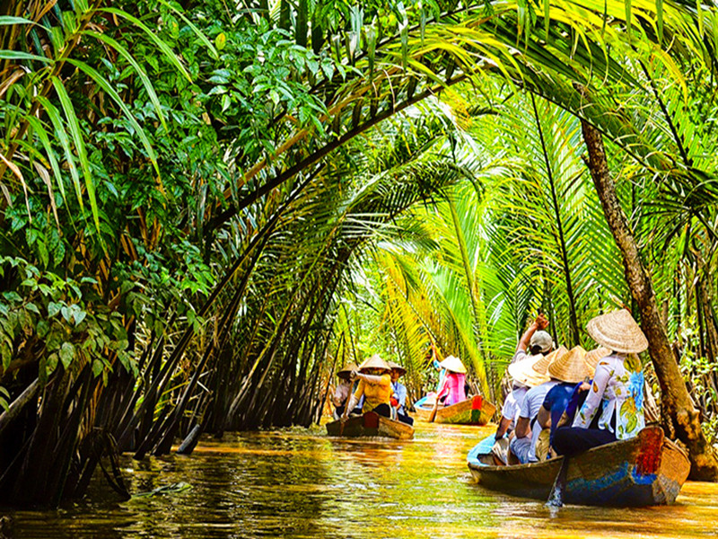 Du ngoạn cồn Thới Sơn, thiên đường sông nước miền Tây - ảnh 1